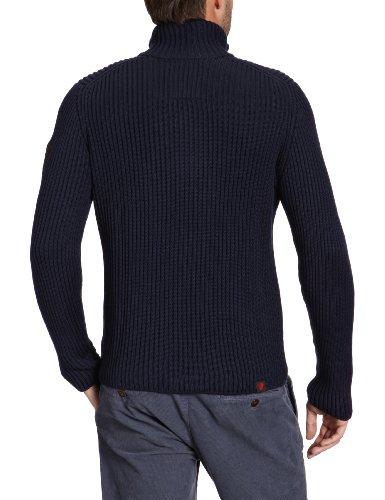 Strellson Sportswear Herren Pullover Regular Fit 14000702/Lecter-T 12 Blau (Uni dunkelblau 122)