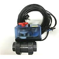 Aire libre piscina 2-vías-válvula D 50 mm con regulación eléctrica ...