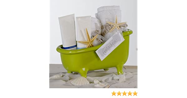 Keramik Badewanne M Badezimmer Deko Geschenkverpackung Fur