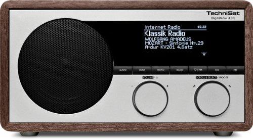 DigitRadio 400 (DAB+/UKW & Internetradio, WLAN, UPnP, Bluetooth), holzoptik