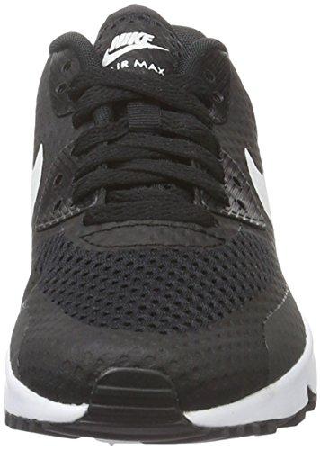 Nike Boys' Air Max 90 Br (Gs) Shoe, Scarpe da Ginnastica Bambino Nero (Black/White)
