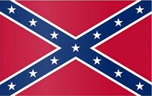 Zauberparty - Party Deko Fahne Flagge Wilder Westen Freiheitsflagge Unabhängigkeit Rebel, 150x90cm, Mehrfarbig (Kind Cowboy Kostüm Muster)