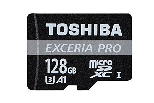 Toshiba m402 scheda di memoria microsdxc exceria pro 128gb - 95mb/s - classe 10 - uhs-i - u3 - a1 + adattatore