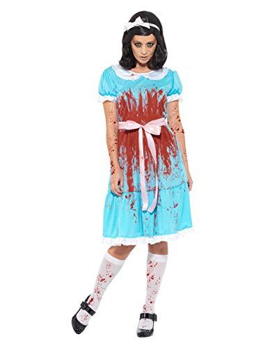 (Blutiger Horror Zwilling Kostüm als Halloween Verkleidung XL)
