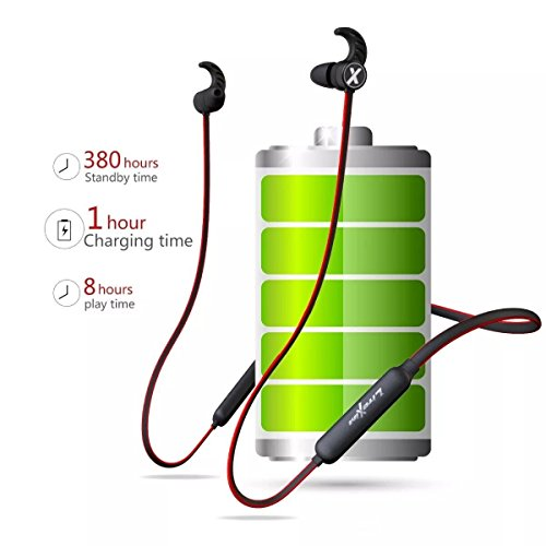 ... Bluetooth True Auricolari Wireless Cuffie da Palestra con Microfono  Design Magnete Noise Cancelling per iPhone Samsung Huawei Rosso. Visualizza  le ... 51f32b902852