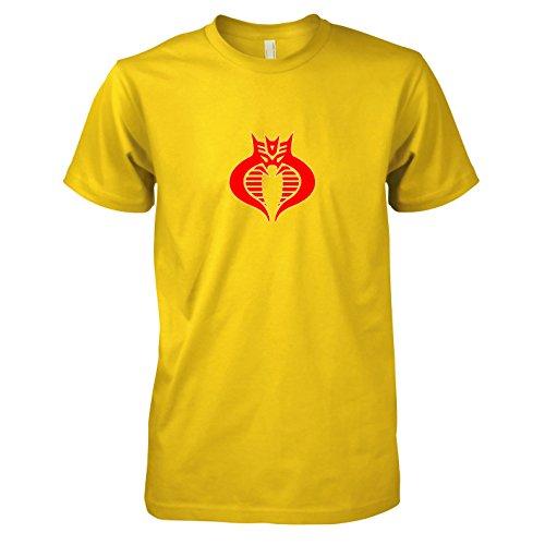 TEXLAB - Decobracons - Herren T-Shirt, Größe XXL, gelb