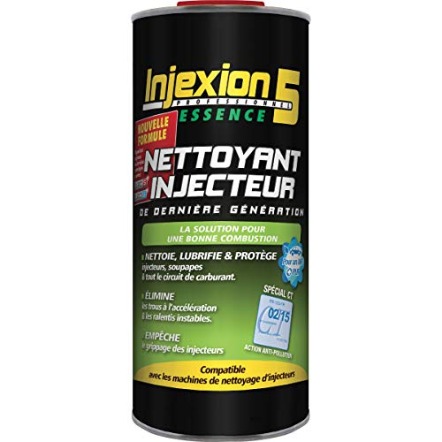 METAL 5 Nettoyant injecteurs essence, professionnel Injexion5 830ml