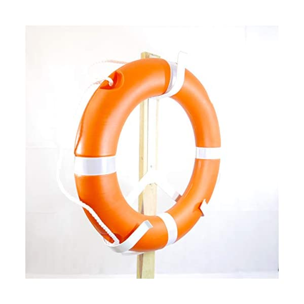 MiDMarine 1.5kg Medium Size 58cm, EC & SOLAS Approved Lifebuoy Ring
