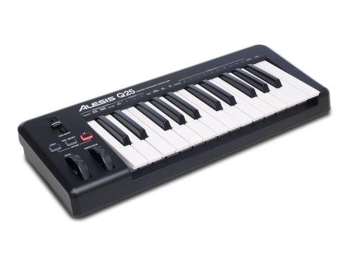 ALESIS Q25 - TECLADO MIDI USB Y CONTROLADOR CON 25 TECLAS + ABLETON LIVE LITE