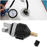 Ailyoo Kit de Adaptador de válvula, Inflable Multifuncional Schrader Adaptador de válvula Accesorios Convertidor de la Bomba de Aire para cartón, Barco de Asalto, Bote Inflable