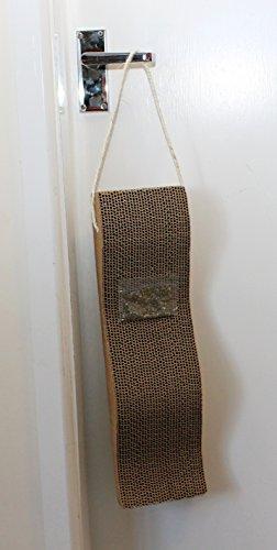 Cat Scratching Board with door hanger Scratcher , Catnip 2