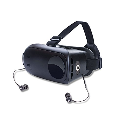 MYJ Private Mode Headset Bluetooth Headset VR Glasses Virtual Reality 3d Storm Mirror,Black,203*150*133mm