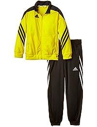 Adidas Sere14 PES SU Y Sudadera, Niños, Amarillo/Negro / Blanco, 152