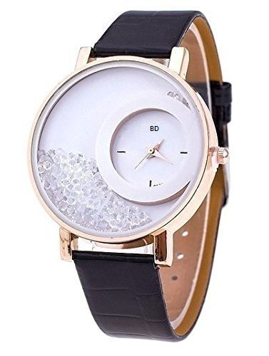 Bollywood Designer Analogue Digital Multicolor Dial Pack of 2 Watches for Women and Girls - W-Diamond