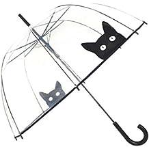 Paraguas para mujer, diseño de campana y dome Smati, transparente