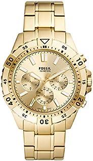 FOSSIL MENS GARRETT STAINLESS STEEL WATCH - FS5772