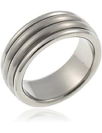CORE by Schumann Design Herren-Ring aus Titan ohne Stein TT060.01