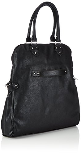 Tamaris Kim Shopping Bag, Borsa Tote Donna Nero (Schwarz (Black 001))