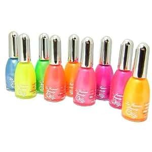 La femme Neon bright nail polish BLUE 15ml