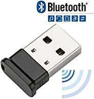 FEDUS Wireless USB Bluetooth 4.0 Receiver and Transmitter Bluetooth Adapter, CSR 4.0 Bluetooth Dongle, for PC, Laptop Desktop