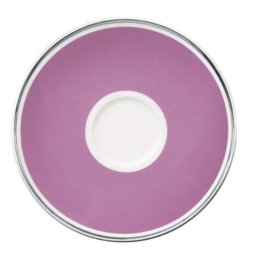 15cm Kaffeeuntertasse 'Anmut My Colour' aus Premium Bone Porzellan Farbe: Pink Rose
