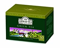 Ahmad Green Tea, Bags 50's Box
