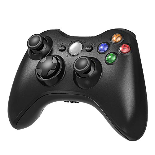 Diswoe Wireless Controller für Xbox 360, 2,4 GHz Wireless Game Joysticks Remote Controller für Microsoft Xbox 360 Konsole Windows PC