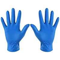 Artwarm 100 Pairs Disposable Gloves Waterproof Hands Protection Household Dishes Washing Gloves
