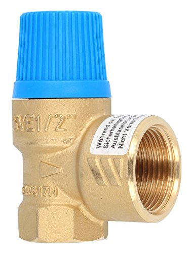 """Preisvergleich Produktbild Membran Sicherheitsventil für geschlossene Wasserwärmer nach DIN 4753, 6 bar, bis 75 kW, E 1/2"""" - A 3/4"""""""