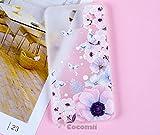 Cocomii Cute Armor Galaxy Note 3 Funda [Siente Bien En La Mano] Bonito 3D-Patrón Silicona De Alivio Antichoque [Entallado] Case Carcasa for Samsung Galaxy Note 3 (C.Watercolor Butterflies)