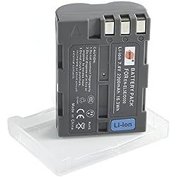 DSTE Rechange Batterie pour Nikon EN-EL3E D30 D50 D70 D70S D80 D90 D100 D200 D300 D300S DSLR D700