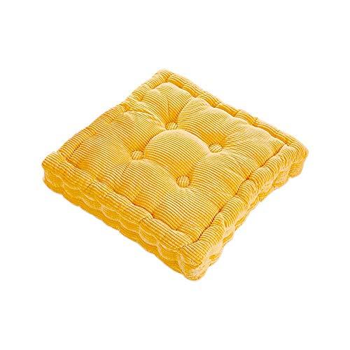 ich Seat Pads Kissen Stuhl Dick Booster, Kissen für Küche Esszimmer Arbeit Büro Sofa gelb(gelb ) ()