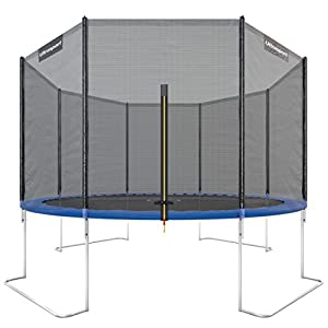 ultrasport jumper garden trampoline incl. safety net