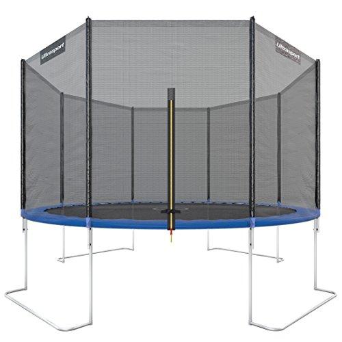 Ultrasport Gartentrampolin Jumper 366 cm inkl. Sicherheitsnetz