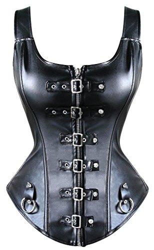 yianna-steampunk-punk-rock-faux-leather-buckle-up-corset-bustier-basque-topuk-ya1412-black-xl