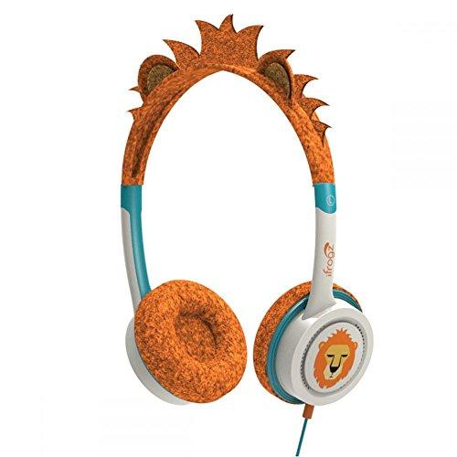 iFrogz IFLRCH-OLI wenig Rockerz Kostüm kabelgebundene Kopfhörer Orange Löwe (Für Kostüm Weniger)
