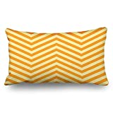 Yesliy Throw Pillow Covers Full Frame Square Image Arrow Textures Chevron Stripe Decor Pillowcase 45x45 cm Rectangular Home Decorative Cushion Pillow Cases