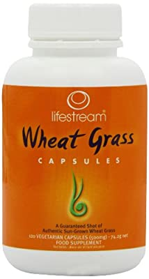 Lifestream Organic Wheat Grass Capsule Pack of 120 from Lifestream
