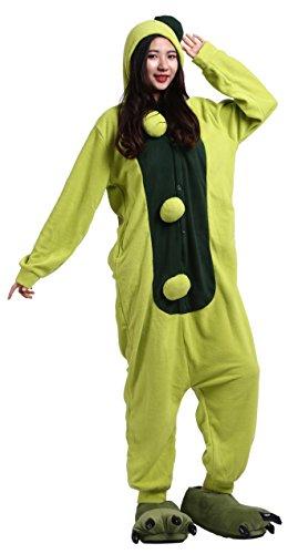 CuteOn Unisex Erwachsene Cartoon Tier Kigurumi Pyjamas Nachtwäsche -