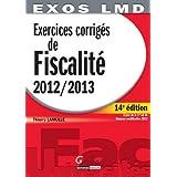 Exercices corrigés de fiscalité 2012-2013