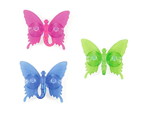 outlook-design-italia-vhb0e00100-butterfly-2-set-of-3-suction-cup-hooks