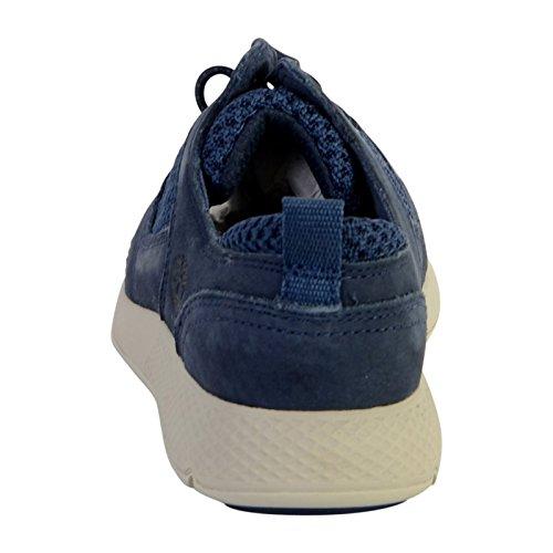 Timberland Unisex Kids  FlyRoam Oxfords  Blue  Black Iris Barefoot Buffed 19   2 5  35 EU