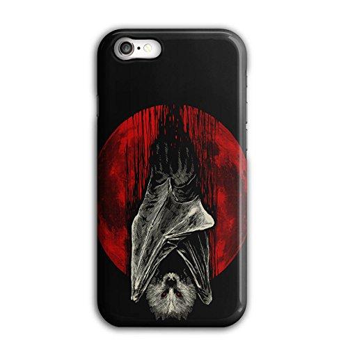 Blut Mond Vampir Schläger Tier iPhone 8 Hülle | (Vampir Und Blut Sachen Zubehör)