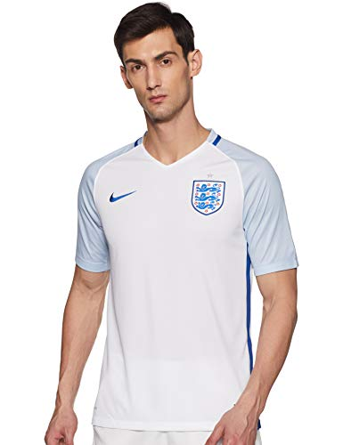 Nike Herren Trikot England Home Stadium Jersey White/Blue Grey/Sport royal, XXL -