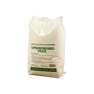 McFilter Teppichreinigungspulver   Inhalt 500 Gramm   geeignet für alle Teppiche und Teppichböden, sowie zur Polsterreinigung   von McFilter