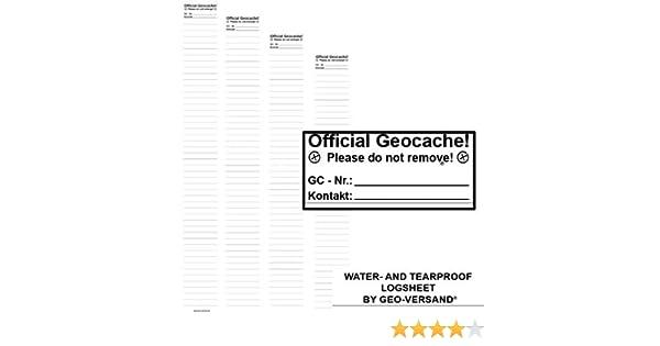 Geocaching Nano Cache Behälter grün magnetisch inkl 2 x wetterfestem Logbuch