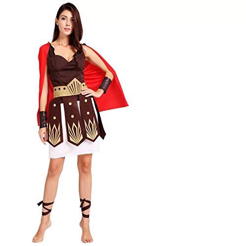thematys Römerin Kriegerin Kostüm-Set für Damen - perfekt für Fasching, Karneval & Cosplay - Einheitsgröße 160-180cm
