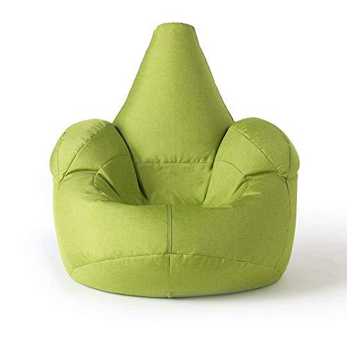 ICON Großer Armsessel Sitzsack- Großer Luxussitzsack Lindgrün