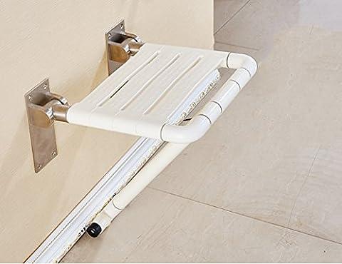 ZCJB Handlauf Badezimmer-Safe-Klappstuhl Alte Leute Bad-Stuhl Mit Den Stützbeinen Klappstuhl-Duschstuhl Ändern Sie Den Schuh-Hocker