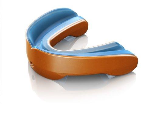 Shock Doctor Paradenti Gel Nano convertibile, Arancione (orange), taglia unica
